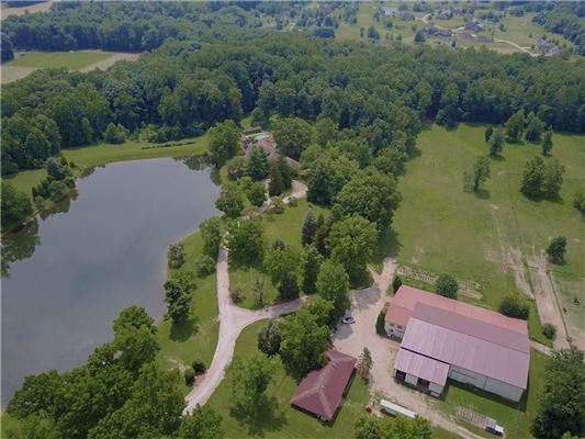 Luxury homes 60 acre equestrian estate