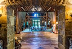 Patinated Brown County Masterpiece luxury properties