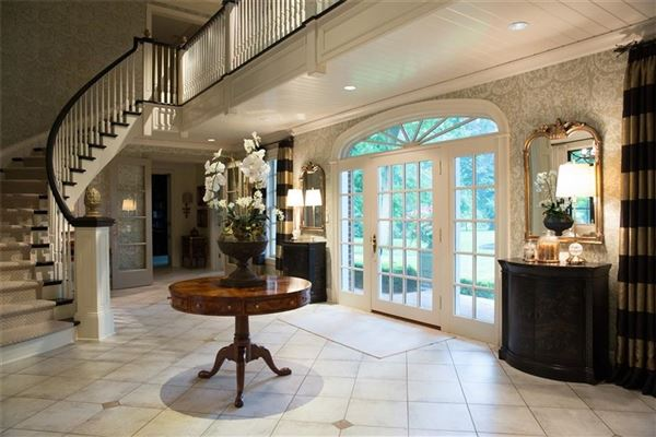 Luxury real estate exquisite home includes a Wine cellar