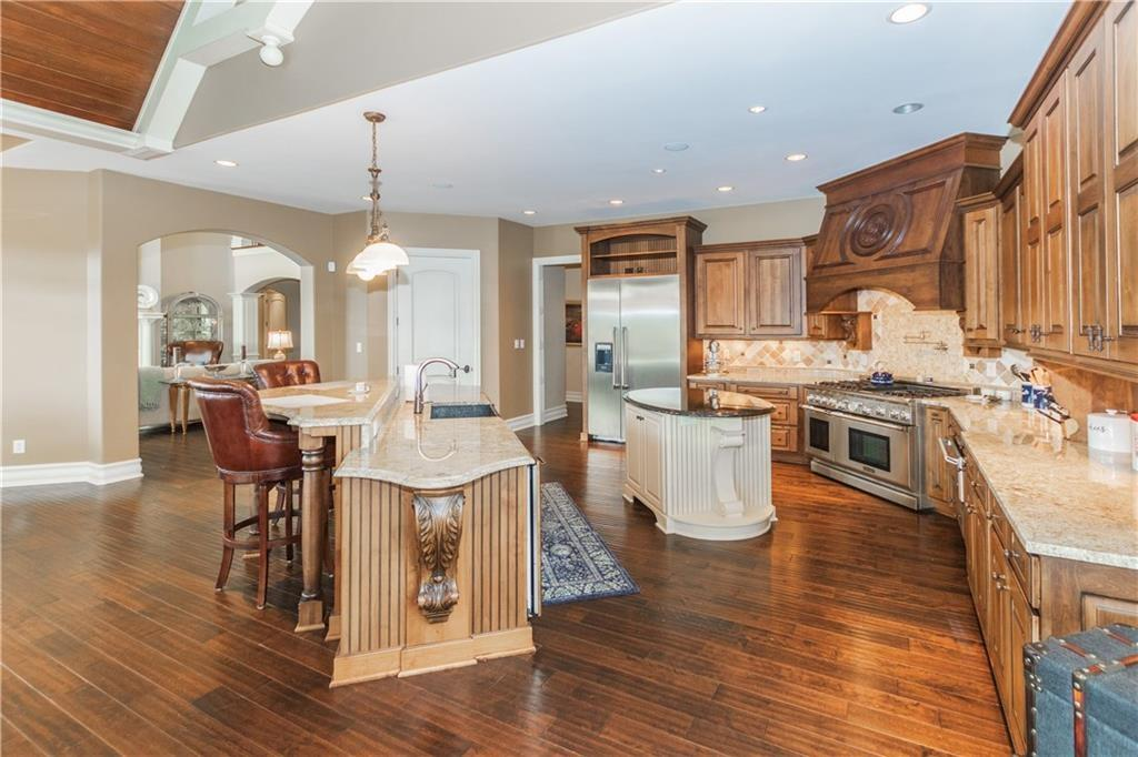 Luxury properties Waterfront Home with View of Geist Lake