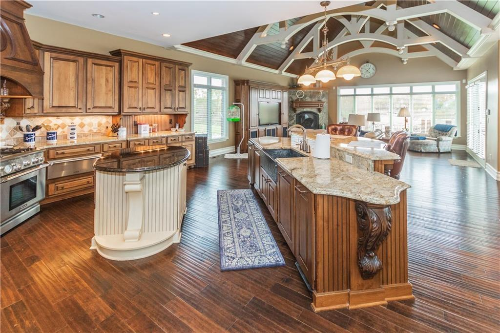 Waterfront Home with View of Geist Lake luxury real estate