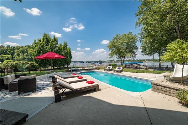 Luxury homes wonderful Geist Waterfront home