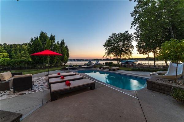 wonderful Geist Waterfront home luxury homes