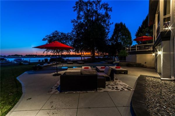 wonderful Geist Waterfront home luxury real estate