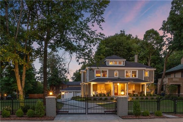 Mansions upgraded home on gorgeous gated lot