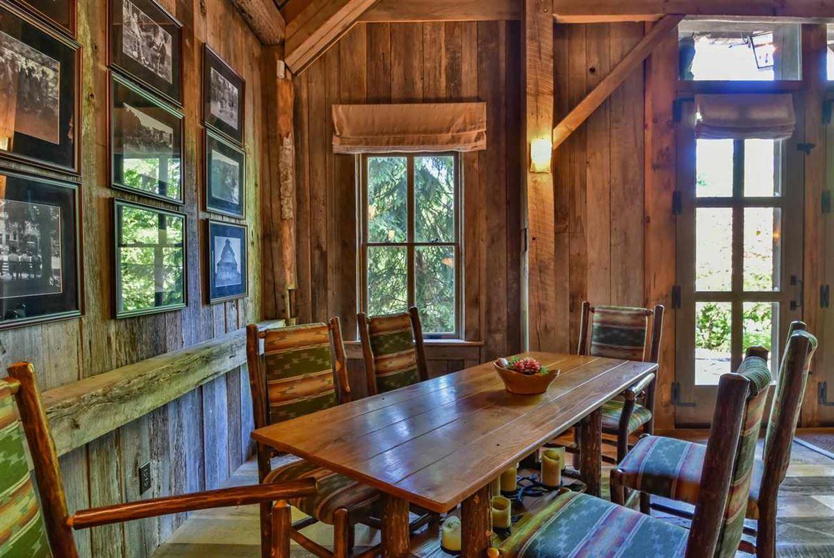 true rustic retreat luxury homes