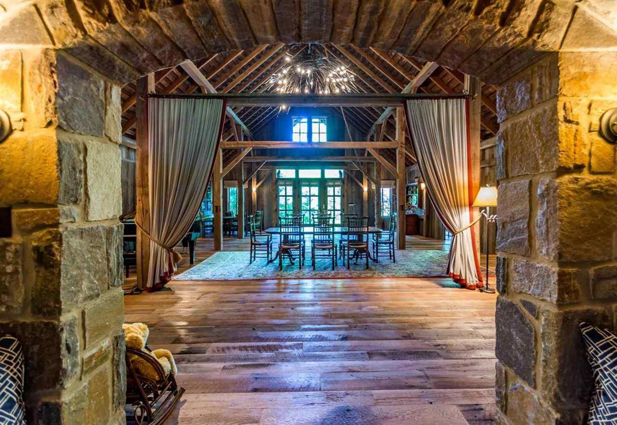 Mansions in true rustic retreat