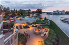 Mansions majestic home with picturesque views of Geist