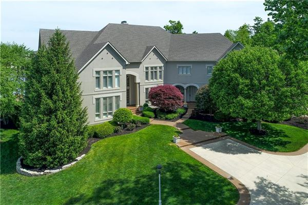 majestic home with picturesque views of Geist luxury homes