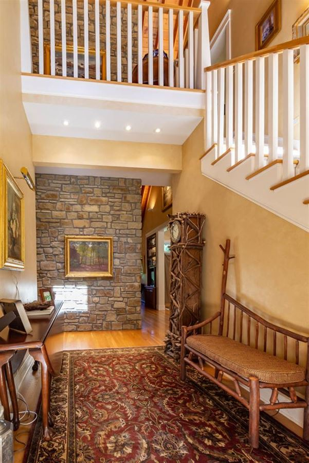 Luxury homes 55 acre Brown County estate