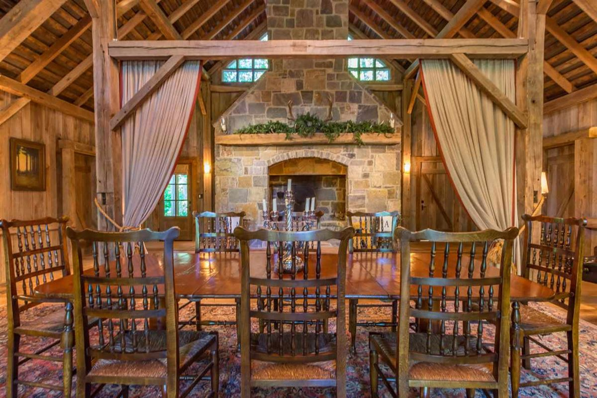 Luxury real estate 55 acre Brown County estate