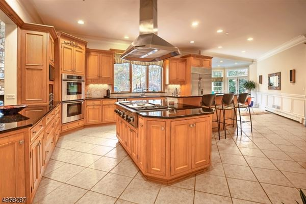 Luxury properties exceptional custom home is situated on 10.14 acres of open and wooded land