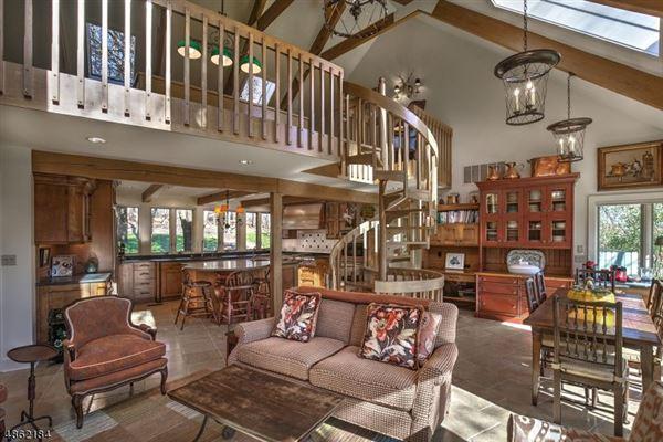 Mansions in Custom Tewksbury Residence on 5o Acres