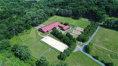 Stone Horse Farm in tewksbury township mansions
