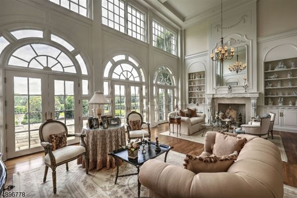 Luxury homes elegant french manor home on over 59 acres