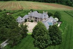elegant french manor home on over 59 acres luxury homes