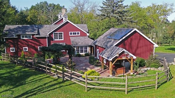 Magnificently restored and expanded converted barn luxury real estate