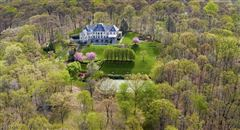 Magnificent French country-style estate mansions