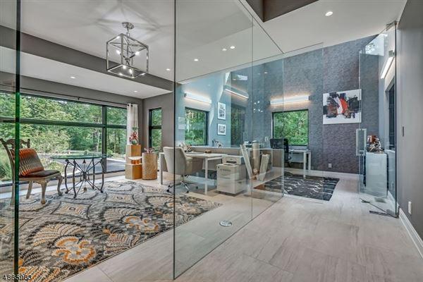 Modern Masterwork in Bernardsville luxury properties