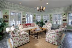 custom colonial on ten prime acres mansions