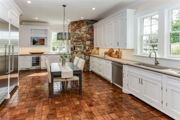 Custom home in chatham township mansions