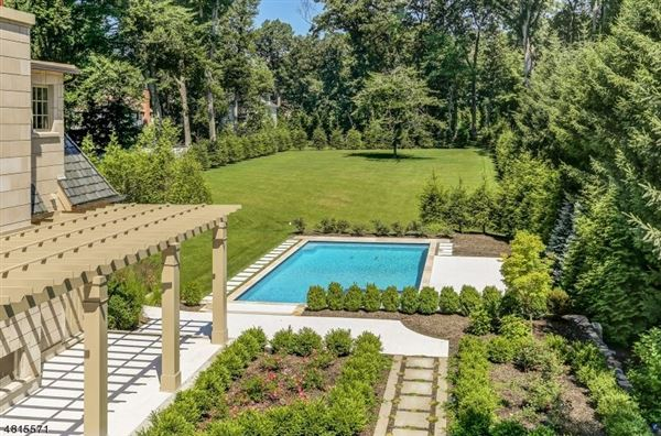 Custom home in chatham township luxury properties