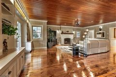 Perfectly blended historic charm and fresh design elements luxury homes