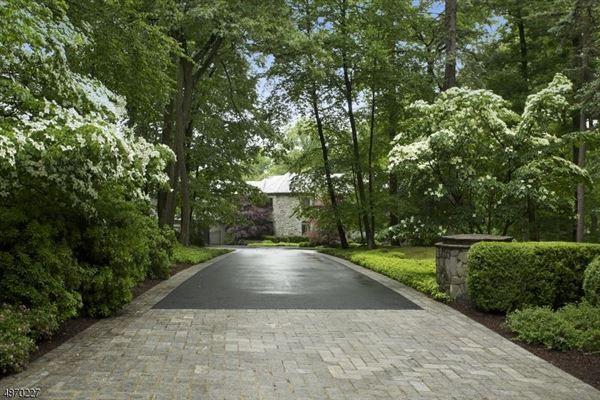 resort like on the Bernardsville Mountain luxury real estate