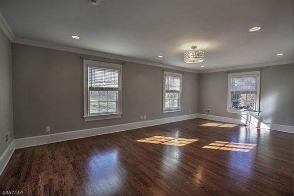 Federal style custom home in bernardsville luxury homes