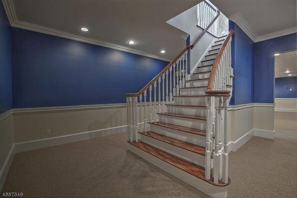 Federal style custom home in bernardsville luxury real estate