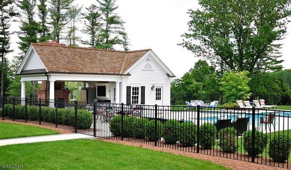 Mansions Federal style custom home in bernardsville