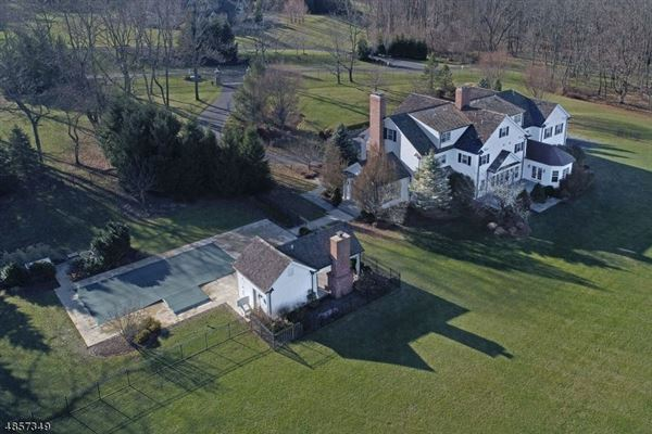 Federal style custom home in bernardsville luxury homes