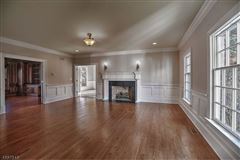 Luxury real estate Federal style custom home in bernardsville