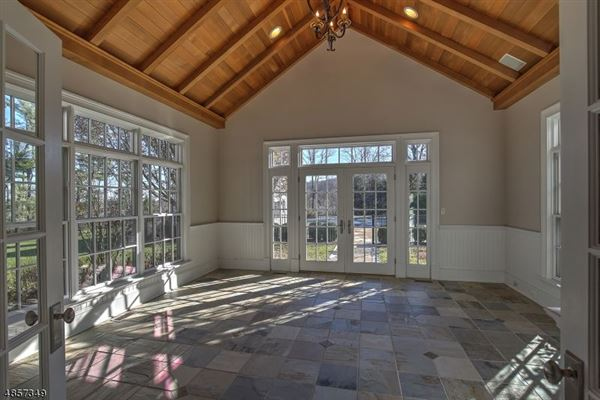Mansions in Federal style custom home in bernardsville