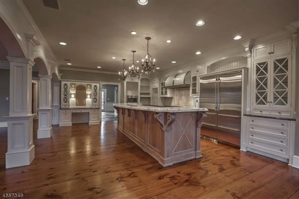 Luxury homes Federal style custom home in bernardsville