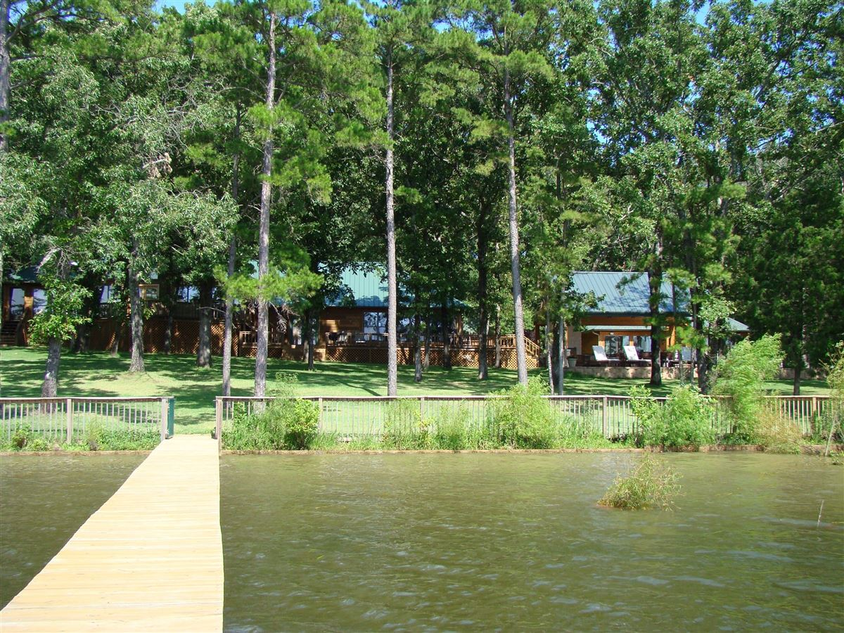Luxury real estate Gated East Texas lake house
