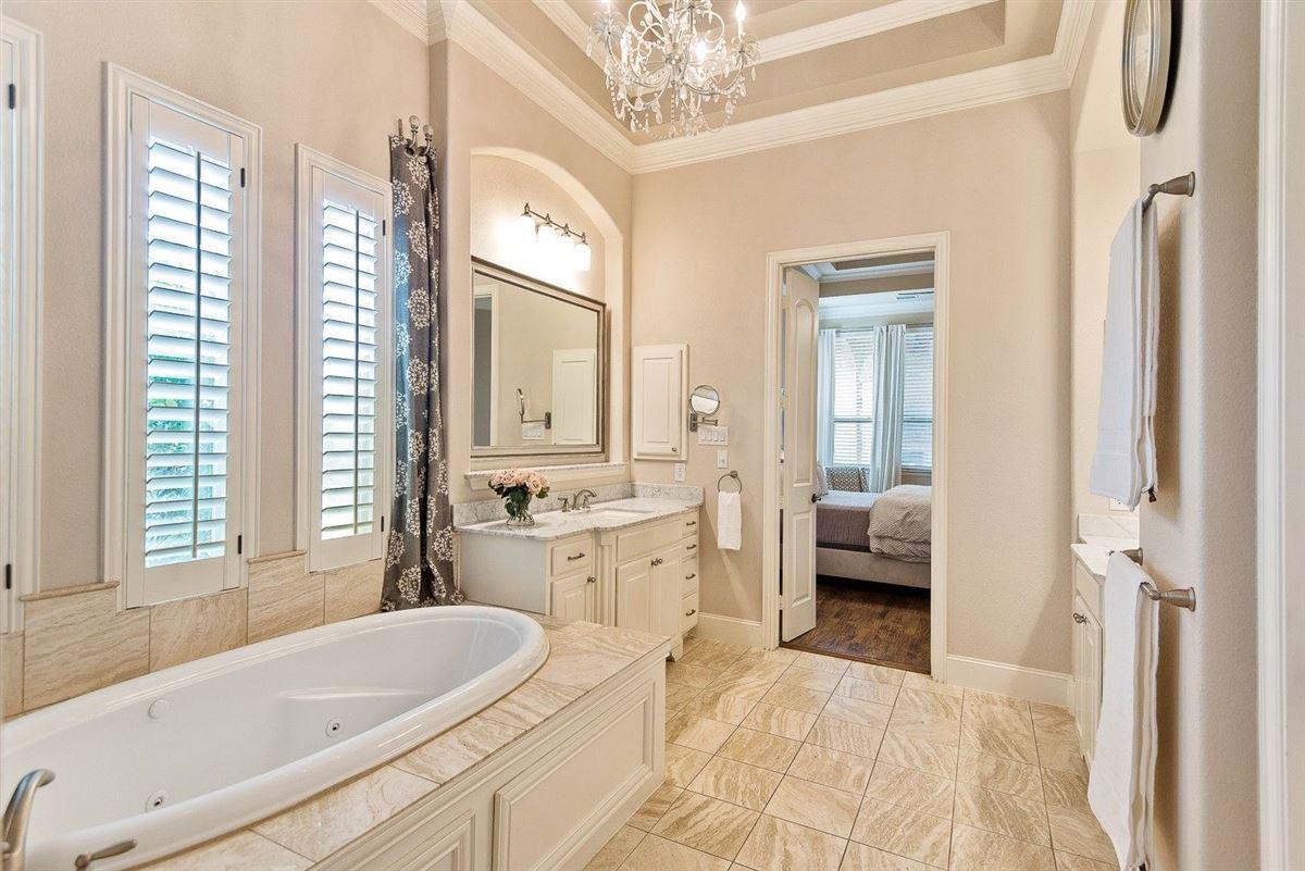 Luxury homes in idyllic