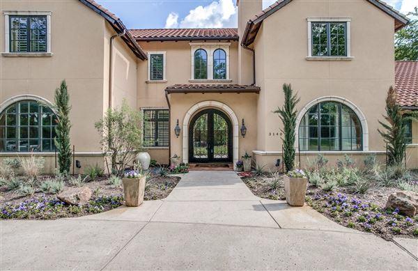 Stunning Mediterranean Dream Home Texas Luxury Homes