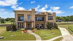 Luxury properties one of a kind home on a large lot in gated community