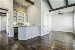 1 story charmer in heath, texas luxury homes