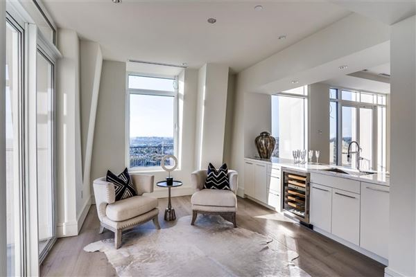Luxury real estate penthouse in the luxury Vendome high-rise