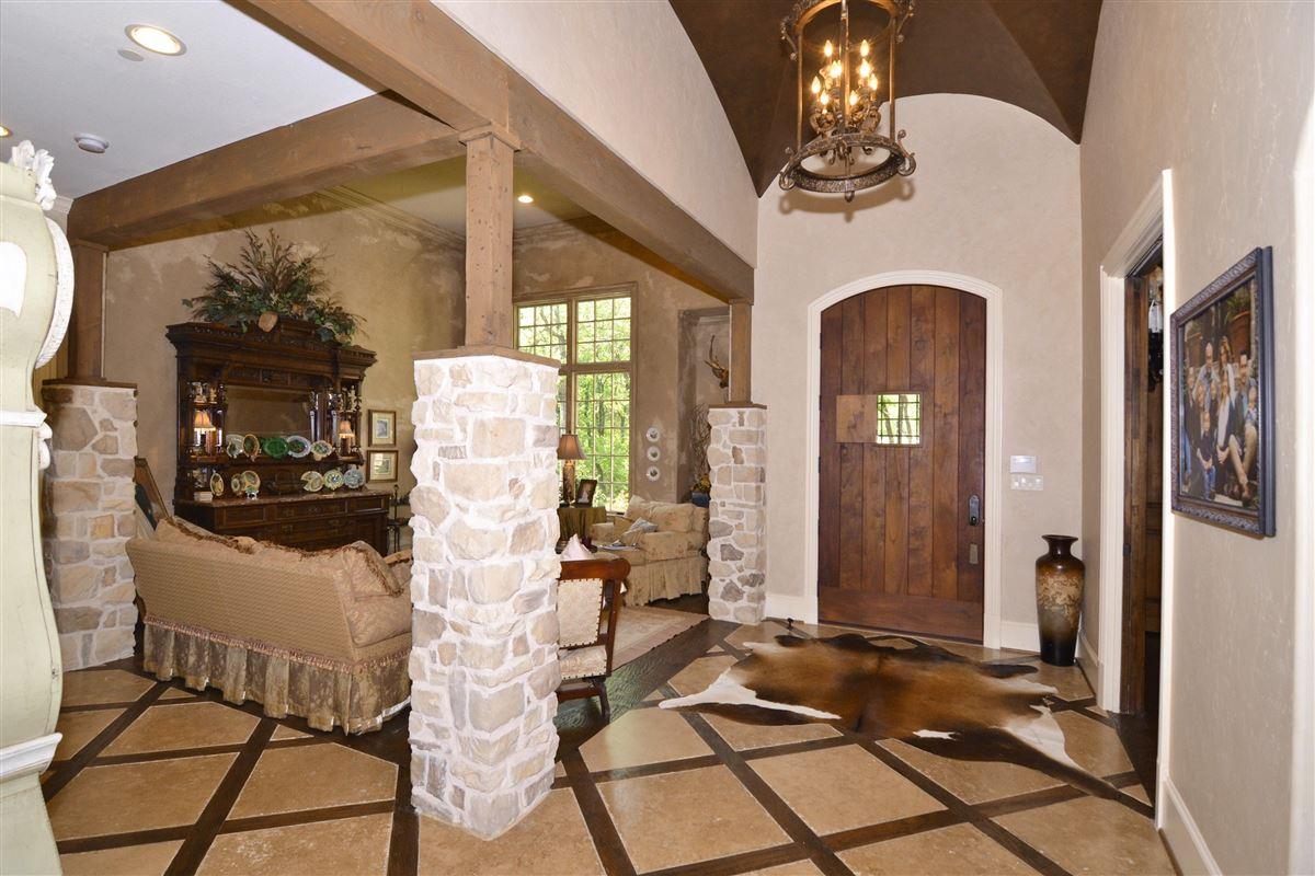 Luxury homes custom Old English home