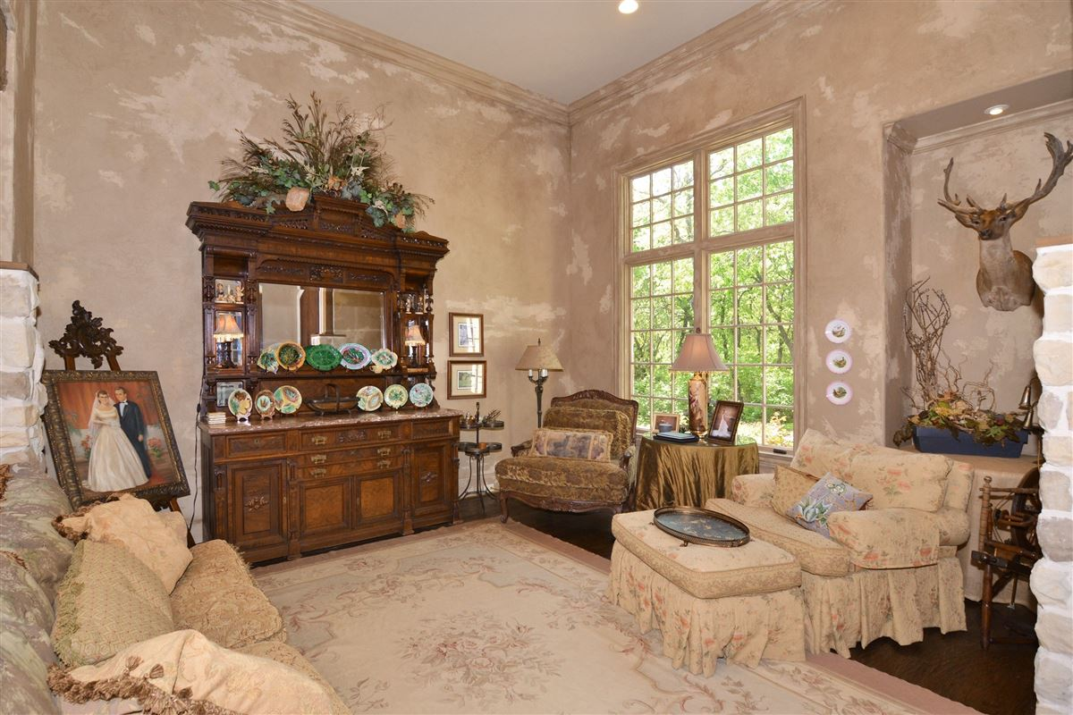 custom Old English home luxury homes