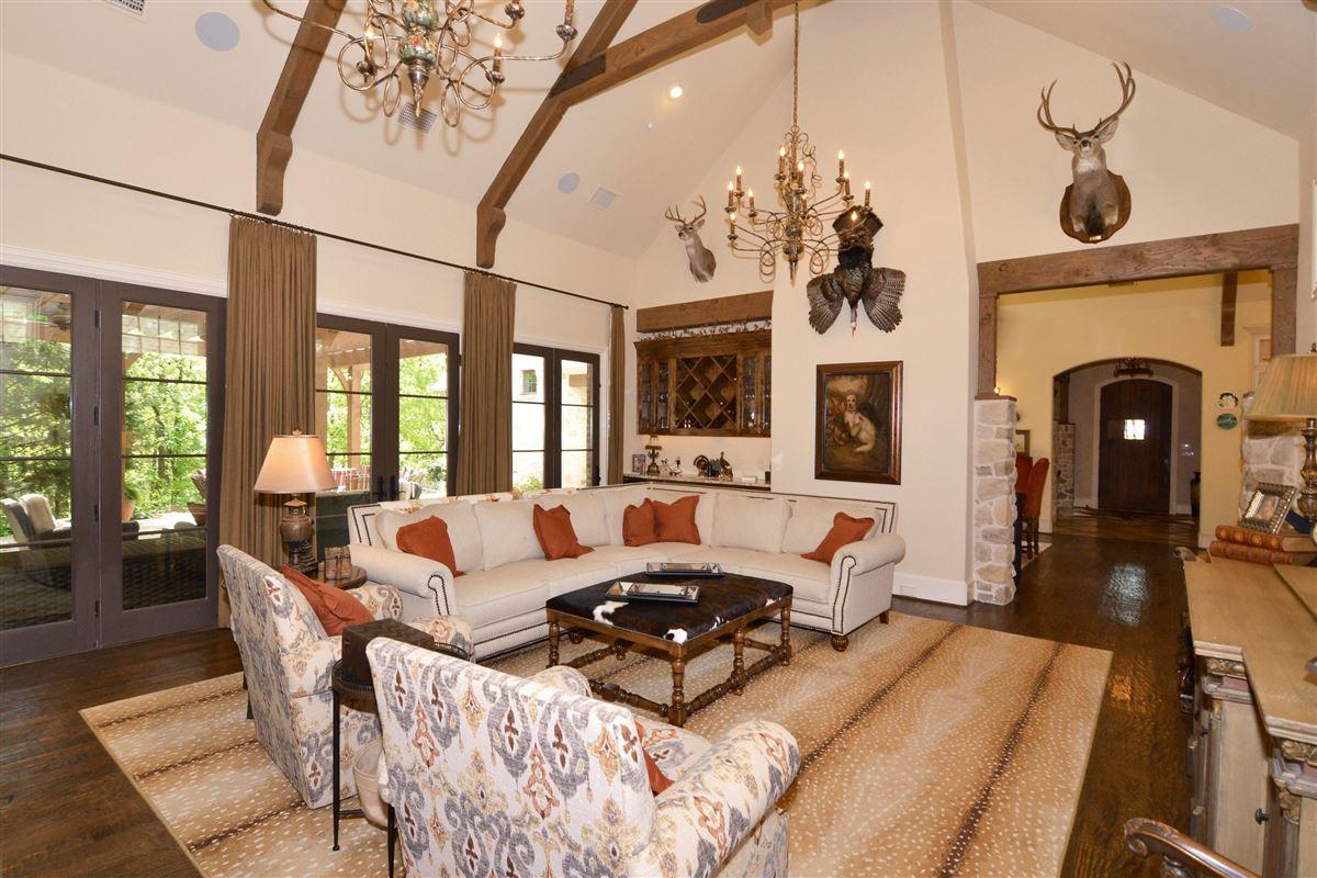 Luxury properties custom Old English home