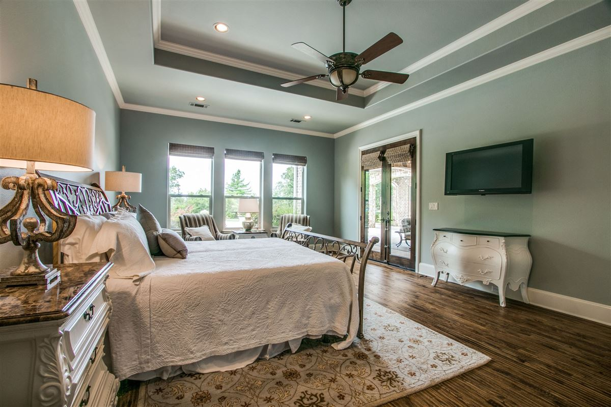 Multigenerational one story home sitting on one acre luxury homes