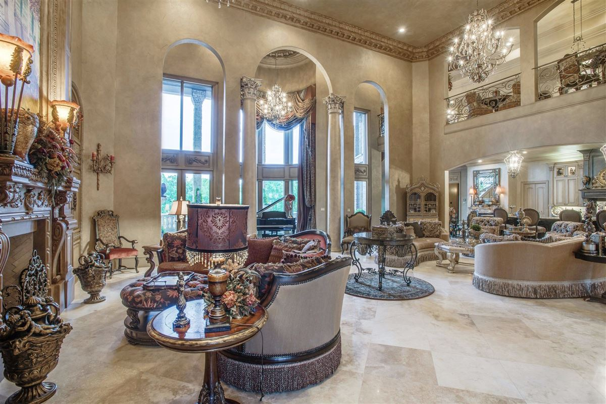Luxury properties elegant estate in gated Starwood