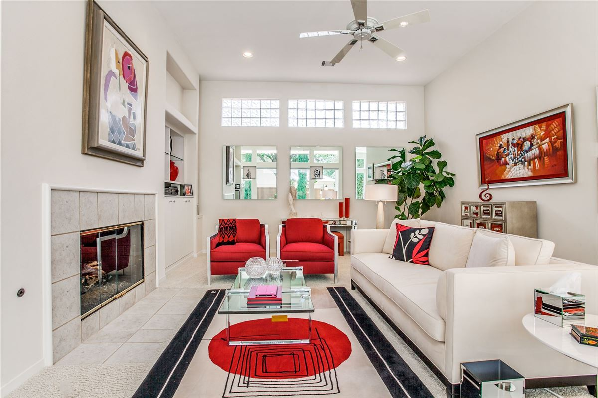 Luxury homes in Beautiful contemporary home in guard gated Oakdale