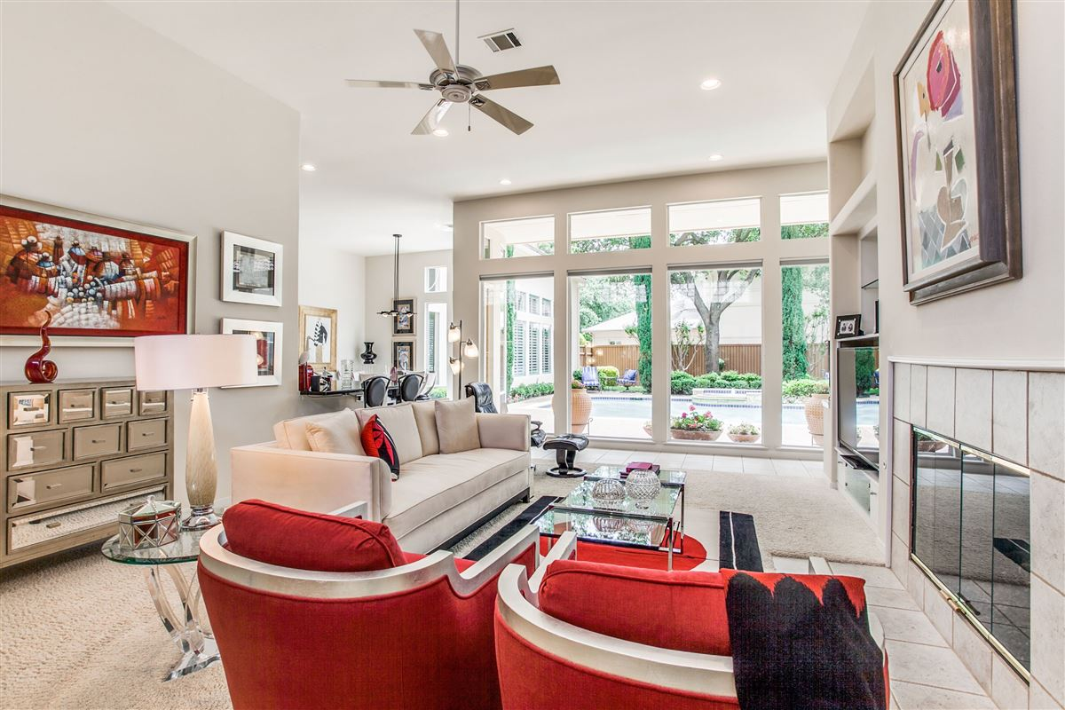 Mansions in Beautiful contemporary home in guard gated Oakdale