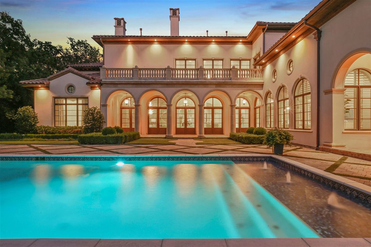 Luxury real estate Italian Renaissance one-acre masterpiece