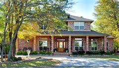 beautiful brick home and 254 acre ranch luxury real estate